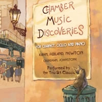 CD Cover: Chamber Music Discoveries by Trio B3 Classic