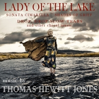 CD Cover: Lady of the Lake - music of Thomas Hewitt Jones
